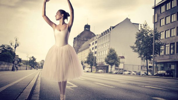 Стремежи - балерина