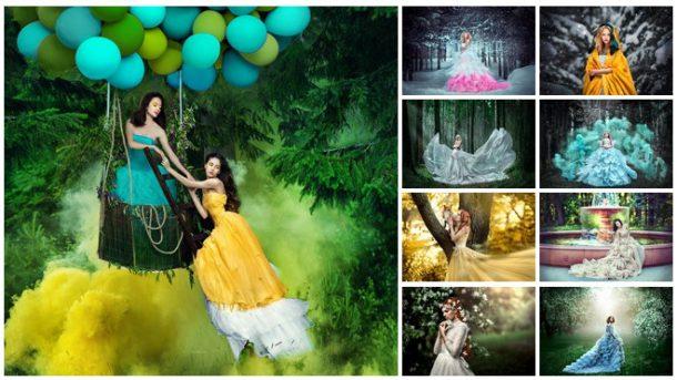 Приказни фотографии на Мария Липина